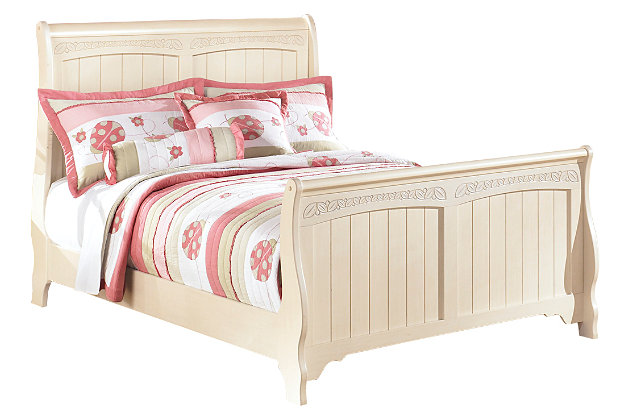 Cottage retreat full sleigh bed ashley furniture homestore Cottage retreat bedroom set