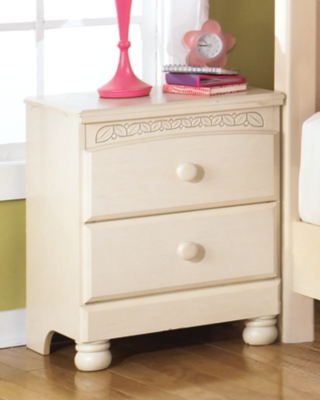 Popular Nightstand Cream Retreat Product Photo