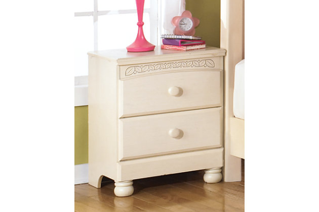Cottage Retreat Nightstand by Ashley HomeStore, White