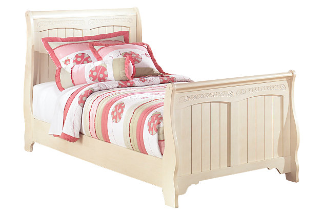 Kids Sleigh Twin Bed