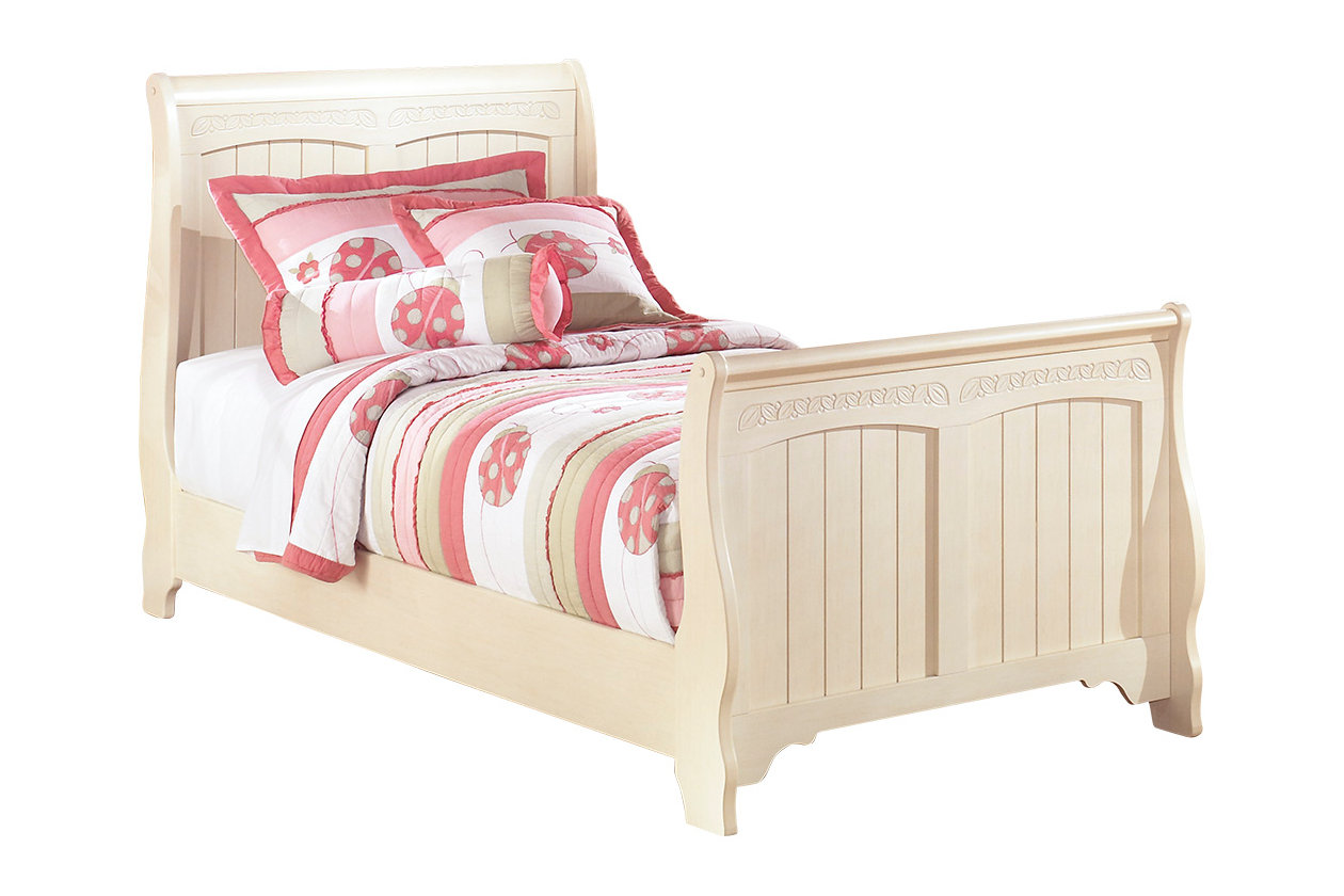 Cottage Retreat Twin Sleigh Bed | Ashley Furniture HomeStore