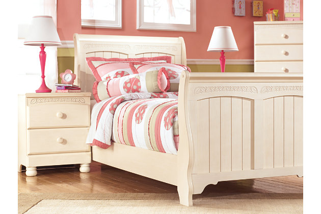 Cottage retreat nightstand ashley furniture homestore Cottage retreat collection bedroom furniture