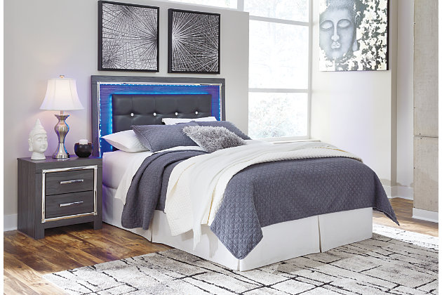 Lodanna Queen Full Upholstered Panel Headboard Ashley Furniture Homestore