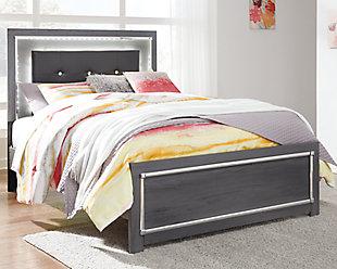 Lodanna Full Panel Bed, Gray, rollover