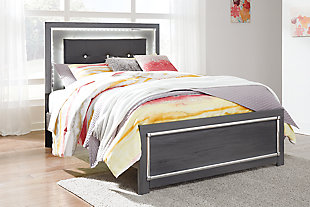 Lodanna Full Panel Bed with Dresser, , large