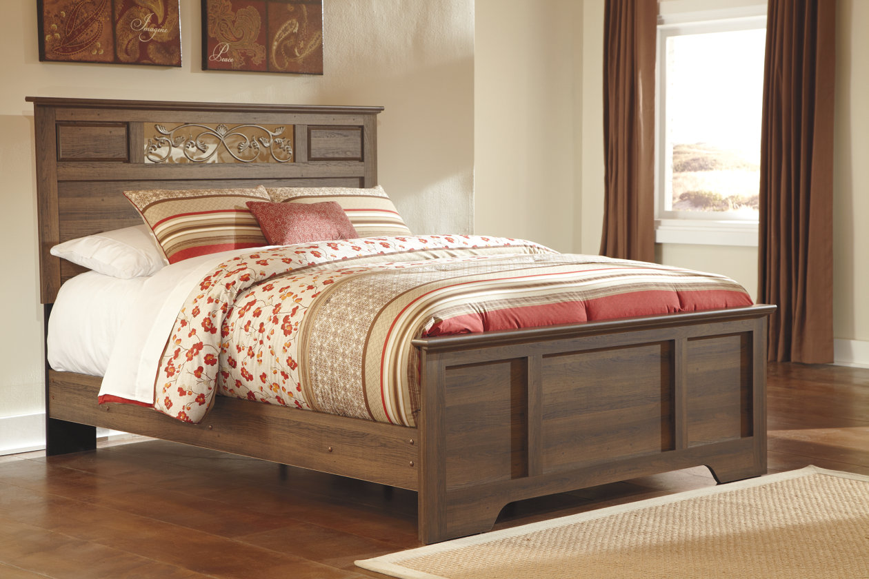 signature design free shipping queen bed ashley size product bittersweet today panel set bedroom home garden by overstock