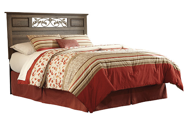Allymore Queen/Full Panel Headboard, , large