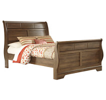 Allymore Queen Panel Bed Ashley Furniture Homestore