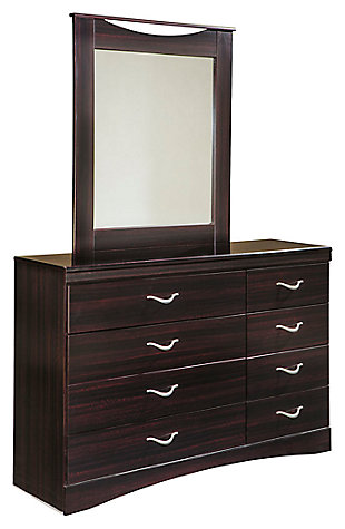 Zanbury Dresser and Mirror, , large