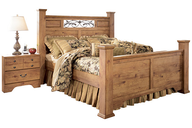 Bittersweet King Poster Bed | Ashley Furniture HomeStore