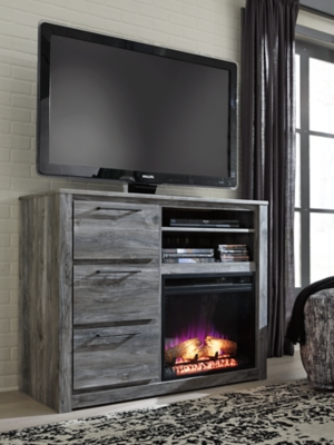 Entertainment Accessories Electric Fireplace Insert Ashley