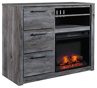 Baystorm Media Chest with Fireplace, , large