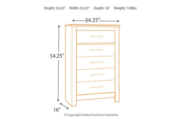 Blaneville Chest of Drawers, , large