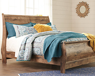 Blaneville Sleigh Bed, , rollover
