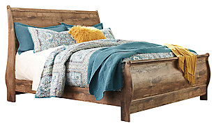 Blaneville Sleigh Bed, , large