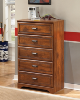 Ashley Barchan Chest of Drawers, Medium Brown