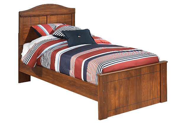 Brown Barchan Twin Panel Bed by Ashley HomeStore