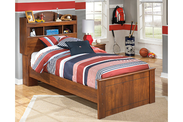 Barchan Twin Bookcase Bed by Ashley HomeStore, Brown