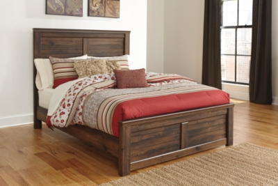 Quinden Queen Panel Bed Ashley Furniture HomeStore