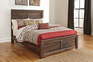 Quinden Queen Panel Bed, , large