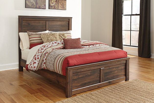 Quinden King Panel Bed Ashley Furniture Homestore