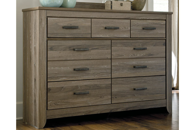 Warm Gray Zelen Dresser View 1