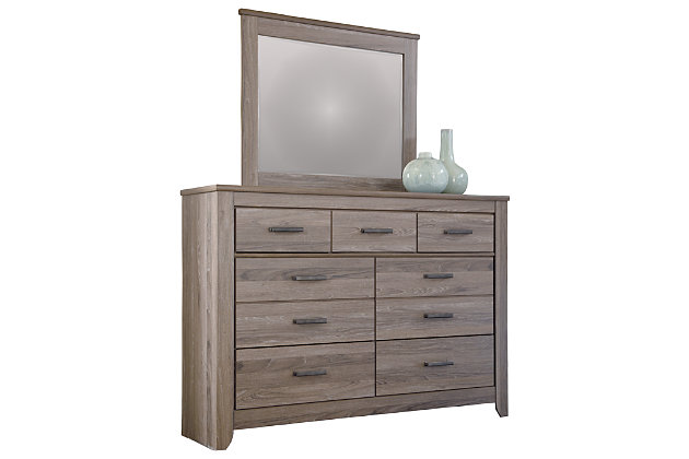 Zelen Dresser and Mirror, , large