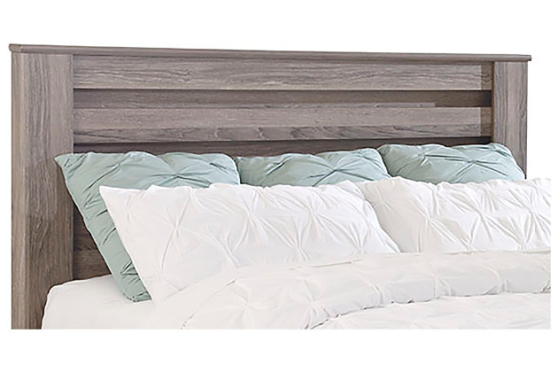 Zelen King/California King Panel Headboard, Warm Gray, large