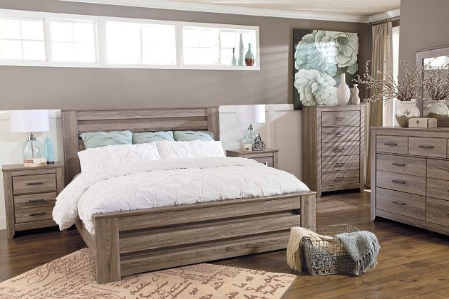 Zelen 6-Piece Queen Bedroom | Ashley HomeStore