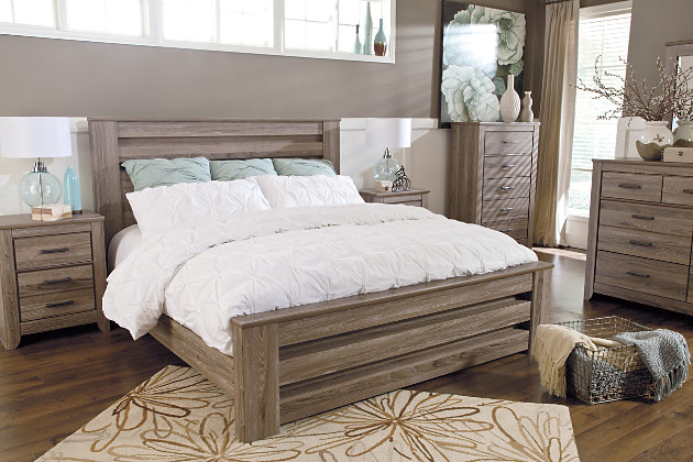 Zelen 6 Piece Queen Bedroom Ashley Furniture Homestore