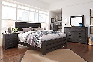 Brinxton 6-Piece King Bedroom, Black, large