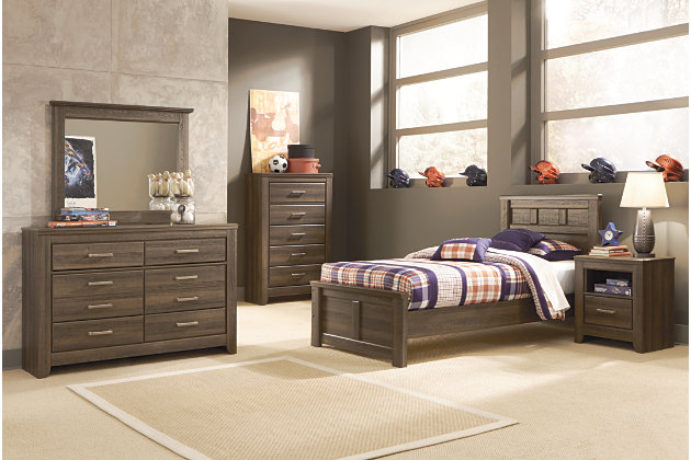 Juararo Twin Panel Bed Ashley Furniture Homestore
