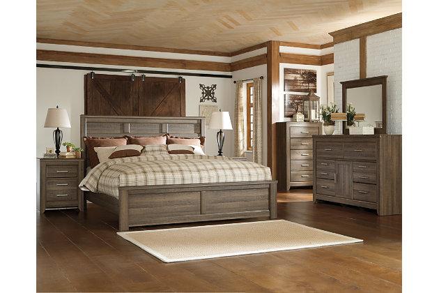 Juararo bureau double et miroir meubles ashley homestore for Ashley meuble canada