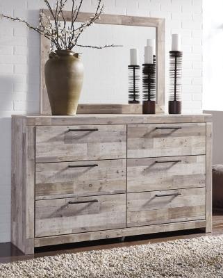 Effie Dresser and Mirror, , large