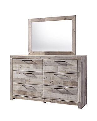 Effie Dresser and Mirror, , large