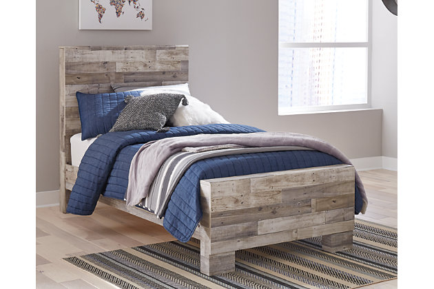 Effie Twin Panel Bed Ashley Furniture Homestore