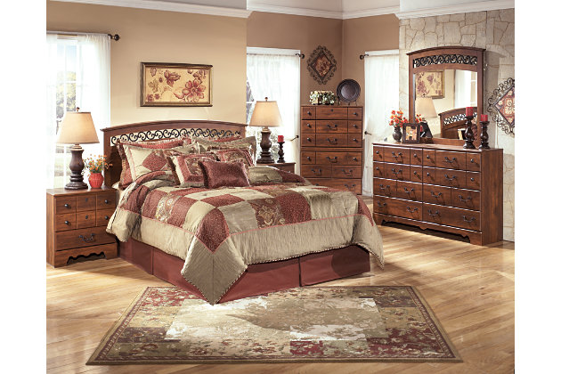 Timberline Queen Full Panel Headboard Ashley Furniture Homestore