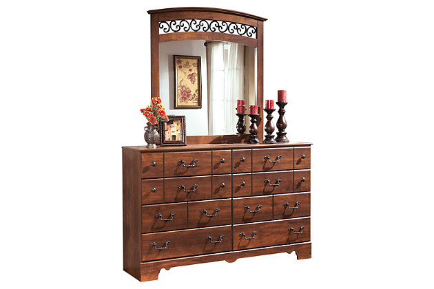 Timberline Dresser and Mirror, , large