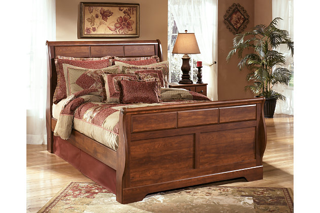 Timberline Queen Sleigh Bed Ashley Furniture Homestore