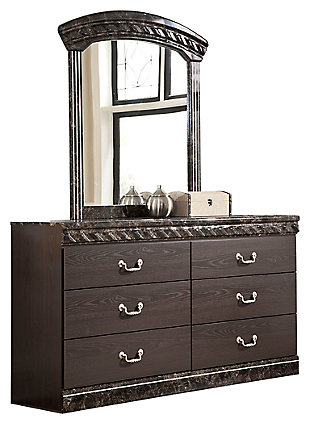 Vachel Dresser and Mirror, , large