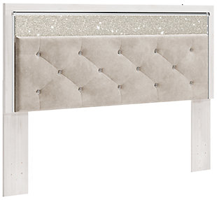 Altyra King/California King Upholstered Panel Headboard, , large