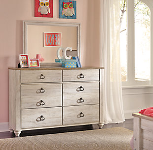 Willowton Dresser and Mirror, , large