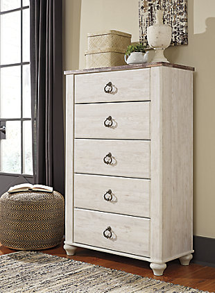 Large Willowton Chest Of Drawers Rollover