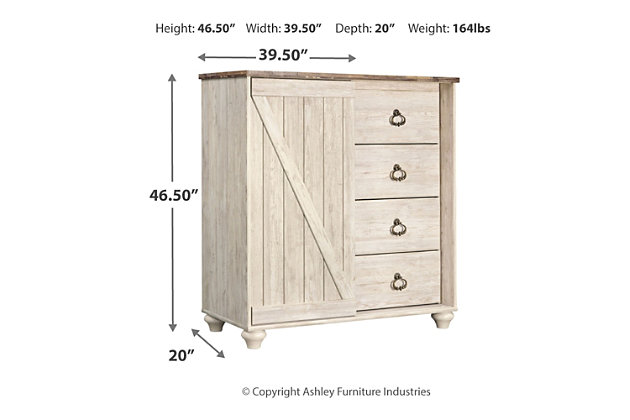 Willowton Dressing Chest, , large
