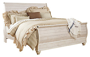 Willowton Sleigh Bed, , large