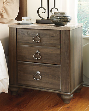 Willowton Nightstand, Brown, rollover
