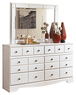 Weeki Dresser and Mirror, , large