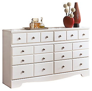 Weeki Dresser, White, large