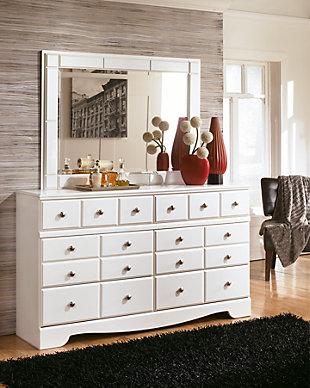 Weeki Dresser and Mirror, , rollover