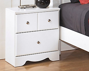 Weeki Nightstand, White, rollover